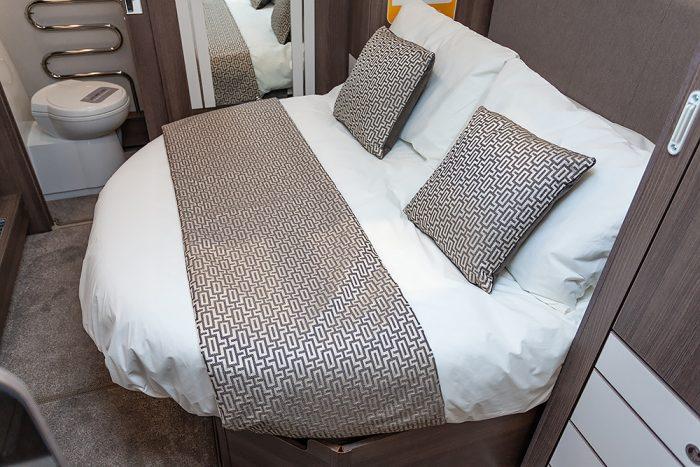 Jonic 2020 Buccaneer Acaia Scheme Best Caravan Bedding Set Boat Motorhome UK Made Mattress Mattresses