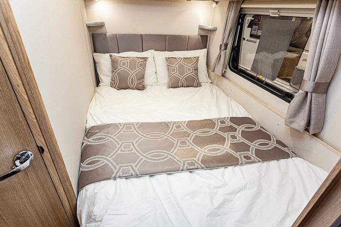 Jonic 2020 Compass Artemis Scheme Nearside Bed Best Caravan Bedding Set Motorhome Boat Mattress Mattresses UK Made