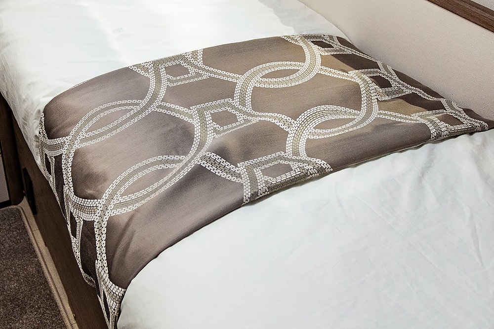 Jonic 2020 Compass Artemis Scheme Bed Best Caravan Bedding Motorhome Boat Mattress Mattresses UK Made