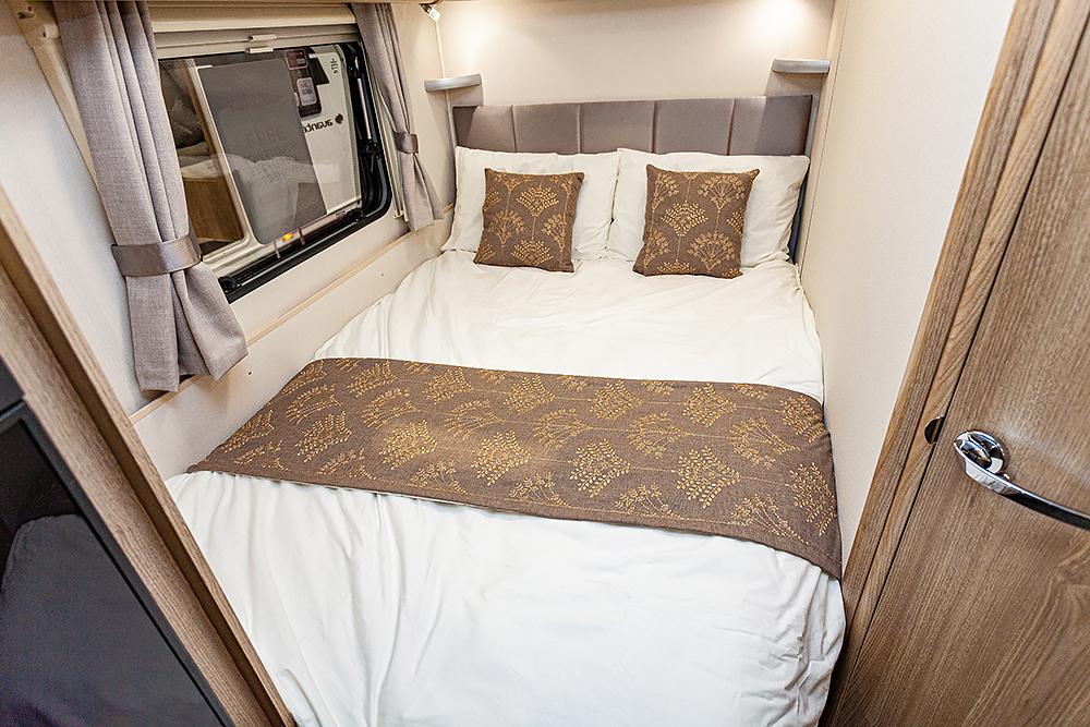 Jonic 2020 Compass Camino Xanthe Scheme Bed Best Caravan Bedding Motorhome Boat Mattress Mattresses UK Made