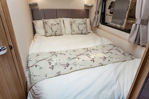 Jonic 2020 Compass Sophia Scheme Bed Best Caravan Bedding Motorhome Boat Mattress Mattresses UK Made