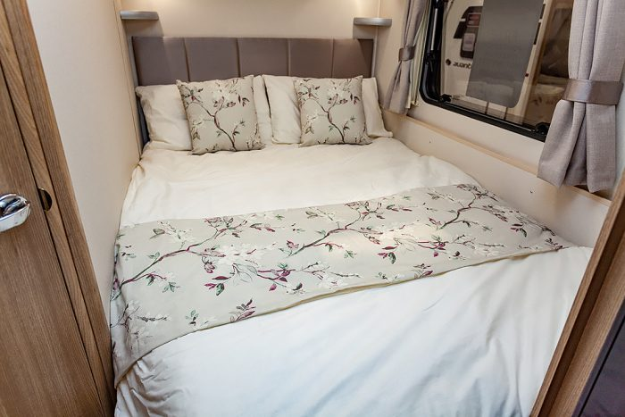 Jonic 2020 Compass Sophia Scheme Bed Best Caravan Bedding Motorhome Boat Mattress Mattresses UK Made