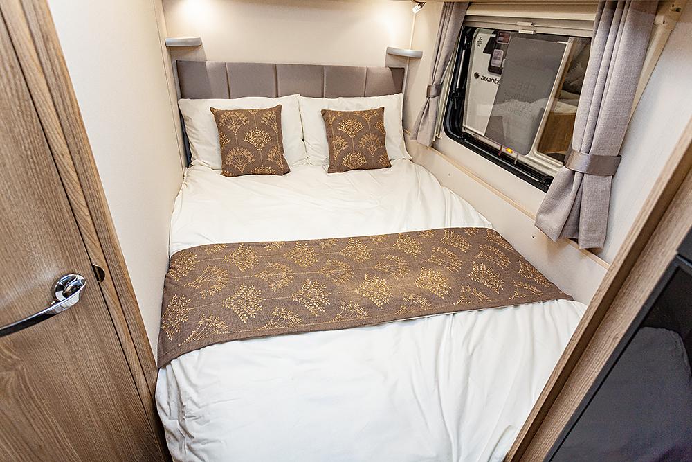 Jonic 2020 Compass Xanthe Scheme Nearside Bed Best Caravan Bedding Motorhome Boat Mattress Mattresses UK Made