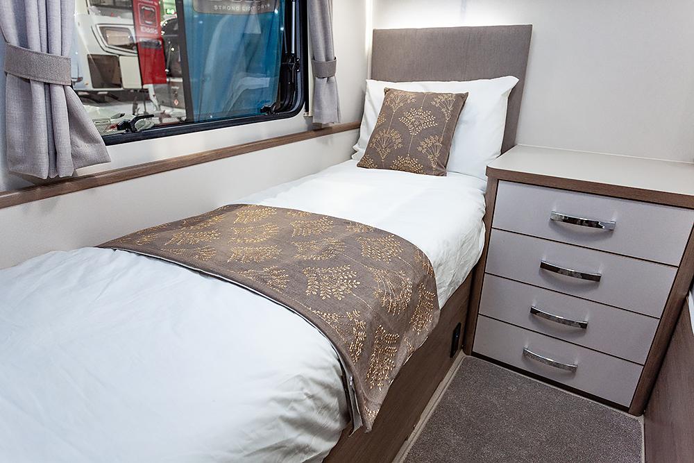 Jonic 2020 Compass Xanthe Scheme Twin Best Caravan Bedding Set Mattress Mattresses UK Made Boat Motorhome