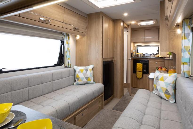 Jonic 2020 Xplore Prism Scheme Best Caravan Bedding Motorhome Boat UK Made Mattress Mattresses
